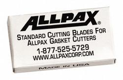 """Allpax Cutting Blades, Standard Duty, 2"""" L, PK6   AX1600"""