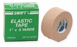 "Honeywell Adhesive Elastic Tape,  Tan,  1"" Width,  5 yd. Length Tan   028105"
