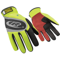 Quickfit Observer Hi-Viz Yellow Red Palm Size Xl