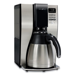 10-Cup Thermal Programmable Coffeemaker, Stainless Steel/Black 2131962