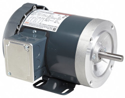 1 HP General Purpose Motor, 3-Phase, 3450 Nameplate RPM, Voltage 575, Frame 56C
