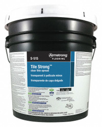 Armstrong Cream Vinyl Composition Tile Adhesive, 4 gal.,  Pail,  Flooring