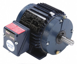 1 HP Severe Duty Motor, 3-Phase, 1735 Nameplate RPM, Voltage 230/460, Frame 143T