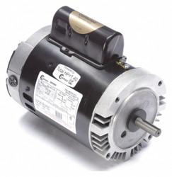 1 HP Pool and Spa Pump Motor, Permanent Split Capacitor, 115/230V, 56C Frame