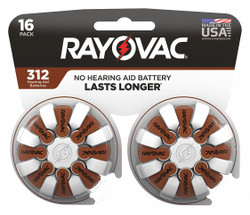Rayovac Hearing Aid Battery   312-16