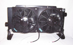 Cool-line DC,  Forced Air Oil Cooler,  12VDC,  45 HP Heat Removed D45-12