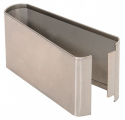 """— Shoe SS Split 06W x 3H for Steel Partition, 3""""H x 6""""W x 1-1/4"""" Thickness"""
