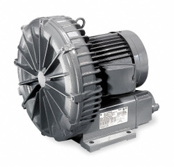 "0.11 Regenerative Blower 1 Phase, 115/230 Voltage, 1-1/4"" OD Inlet Size"