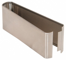 """— Shoe SS Split 10W x 3H for Steel Partition, 3""""H x 10""""W x 1-1/4"""" Thickness"""