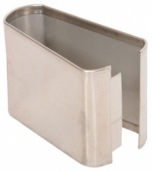 """— Shoe SS Split 04W x 3H for Steel Partition, 3""""H x 4""""W x 1-1/4"""" Thickness"""