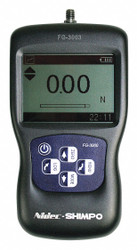 Shimpo Digital Force Gauge, 5 Digit LCD, 50N  FG-3005