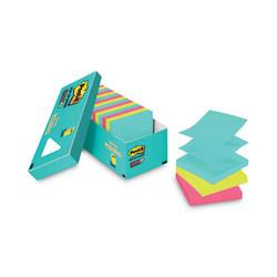 Pop-up 3 x 3 Note Refill, Miami, 100 Notes/Pad, 18 Pads/Pack R33018SSMIAC