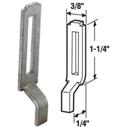 Prime-Line Adjustable Screen Door Strike Plate (2 Count) A 148