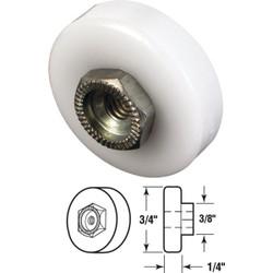 Prime-Line 3/4 In. X 3/8 In. Flat Shower Door Roller (2-Count) M 6001