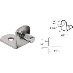 Prime-Line 5mm Nickel Metal Shelf Support (8-Count) U 10171