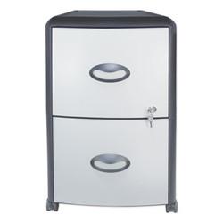 Storex File,Cabinet,2dwr,Bksv 61351U01C