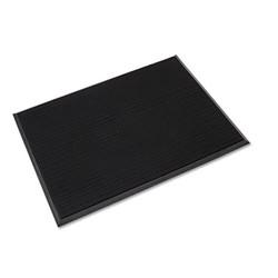 Mat-A-Dor Entrance/Antifatigue Mat, Rubber, 36 x 72, Black MAFG62BK
