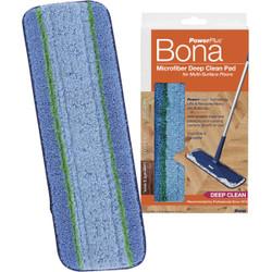 Bona PowerPlus 4 In. W. x 15 In. L. Microfiber Pad Mop Refill AX0003495