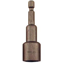 Best Way Tools Metric 14 mm x 2-9/16 In. Magnetic Nutdriver Bit 39501