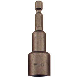 Best Way Tools Metric 10 mm x 2-1/2 In. Magnetic Nutdriver Bit 39495