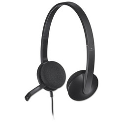 H340 Corded Headset, USB, Black 981000507
