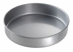 "Chicago Metallic Round Cake Pan, 10"" dia. x 2"" D Glazed Aluminized Steel 41025"