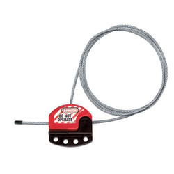 Master Lock® Adjustable 6' Cable Lockout