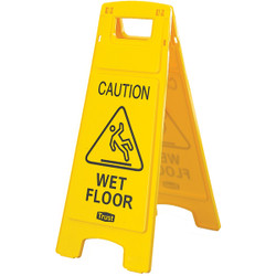 "Trust® ""Caution Wet Floor"" Safety Sign"