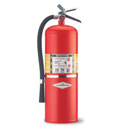 Amerex® 20 lb ABC Extinguisher w/ Aluminum Valve & Wall Hook