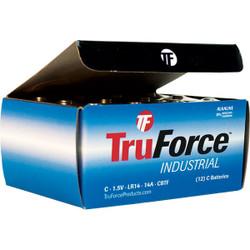 TruForce™ Industrial C Alkaline Batteries