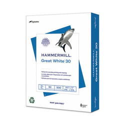 Hammermill Paper,Great,Ltr,20#rcy,We 86700-RM