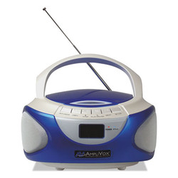 CD Boombox with Bluetooth, Blue SL1015