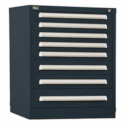 Stanley Vidmar Modular Drawer Cabinet Black Powder Coated  Steel SCU1904ALBK