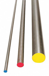 Precision Marshall Steel Comp. Oil Hard Drill Rod, O1, Z, 0.413 In Steel O1DZ6