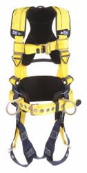 3m Dbi-sala Full Body Harness, M, 420 lb., Yellow Yellow  1101457