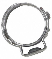 Sur&r Fuel Line Seal Clamp, Silver Silver   Automotive K6811