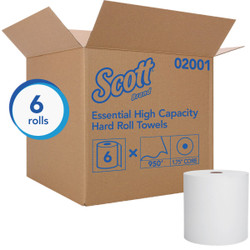 Scott Essential Hard Roll Paper Towel (6 Roll) 02001