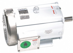 10 HP Washdown Motor, 3-Phase, 1765 Nameplate RPM, 230/460 Voltage, Frame 215T
