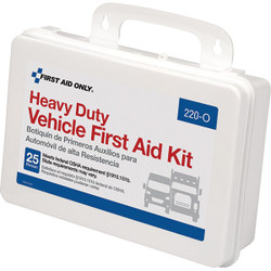 25-Person Vehicle Weatherproof First Aid Kit