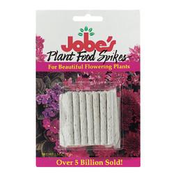 Jobe's 10-10-4 Flowering Plant Food Spikes (50-Pack) 05231T