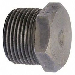 """Anvil Hex Head Plug, MNPT, 1"""" Pipe Size - Pipe Fitting   0361313406"""
