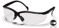 Pyramex SB1810S Venture ll Safety Glasses Black with Clear Lens pack of 12