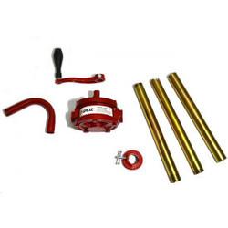 Groz 44052 Rotary Barrel Pump, Dual Direction, 3-piece Rigid Suction Tube, NBR S