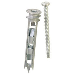 ITW E-Z Ancor 25320 - Toggle Lock 100 lb. Self-Drilling Drywall Anchor - Made In