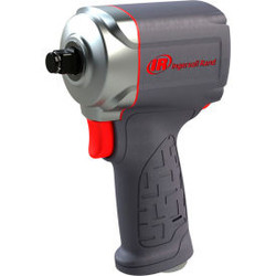 """Ingersoll Rand Vibrotherm Compact Air Impact Wrench, 3/8"""" Drive Size, 380 Max To"""