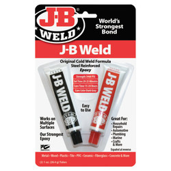 Cold Weld Compounds, 2 oz (2 x 1 oz.) Skin Packed, Dark Grey
