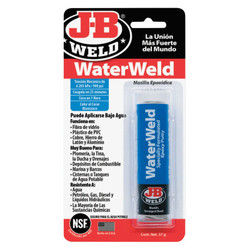 Water Weld Compound, 2 oz Tube, Off White