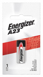 Energizer Battery, Alkaline, Size A23, 12VDC   Camera A23BPZ
