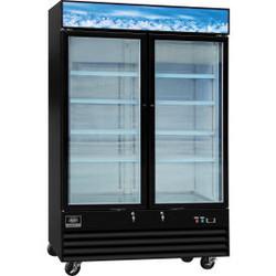 """Nexel Merchandiser Freezer, 2 Door, 53-1/8""""Wx31-7/8'Dx79-3/8""""H, 45 Cu. Ft."""