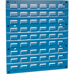 Global Industrial Steel Louver Panel 18 x 19 - Blue